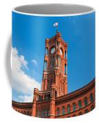 Rotes Rathaus The Town Hall Of Berlin Germany Coffee Mug