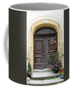 Rothenburg Ob Der Tauber Door  Coffee Mug