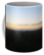 Rothko Sunrise In Rain Coffee Mug