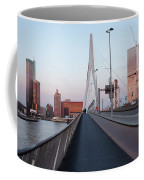 Rotterdam Downtown Skyline At Sunset Coffee Mug