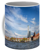 Rotterdam Skyline In Netherlands Coffee Mug