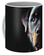 Rottie Love - Rottweiler Art By Sharon Cummings Coffee Mug
