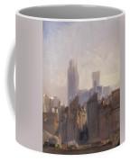 Rouen Cathedral Sunrise Coffee Mug