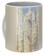 Rouen Cathedral West Facade Coffee Mug