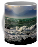 Rough Seas Kaikoura New Zealand Coffee Mug