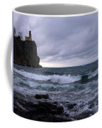 Rough Surf At Split Rock Coffee Mug
