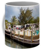 Roughing It In The Keys Coffee Mug