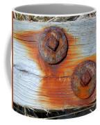 Round And Rusted Coffee Mug