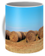 Round Bales Of Hay Coffee Mug