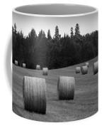 Round Hay Bales Coffee Mug