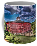 Round Red Barn Coffee Mug