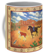 Round Up And Cattle Brands Coffee Mug
