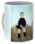 Rousseau's Boy On The Rocks Coffee Mug