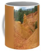 Roussillon Ochres Pigments Rock Coffee Mug