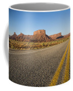 Route 128 Near Castle Valley Coffee Mug