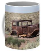 Route 66 - Abandoned Car Coffee Mug