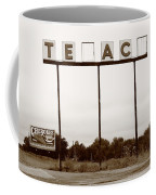 Route 66 - Abandoned Texaco Station Coffee Mug