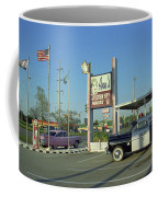 Route 66 - Anns Chicken Fry House Coffee Mug by Frank Romeo