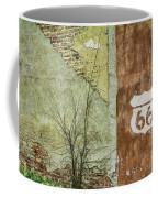 Route 66 Brick And Mortar Coffee Mug