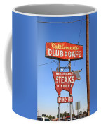 Route 66 - Cattleman's Club And Cafe Coffee Mug