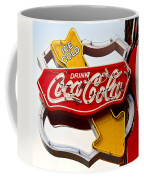 Route 66 Coca Cola Coffee Mug