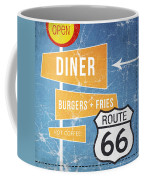 Route 66 Diner Coffee Mug