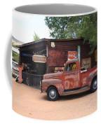 Route 66 Garage And Pickup Coffee Mug