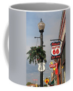 Route 66 In Williams Arizona Coffee Mug