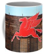 Route 66 - Mobil Pegasus Coffee Mug