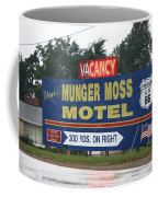 Route 66 - Munger Moss Motel Sign Coffee Mug