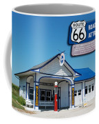 Route 66 Odell Il Gas Station Signage 01 Coffee Mug