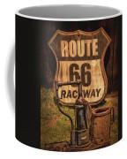 Route 66 Raceway Coffee Mug