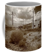 Route 66 - Twin Arrows Trading Post Coffee Mug
