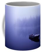 Row Boat On Lake Mason Coffee Mug