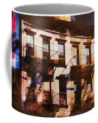 Row Houses - Old Buildings And Architecture Of New York City Coffee Mug