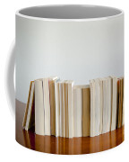 Row Of Books Coffee Mug