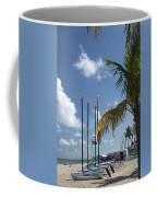 Row Of Sailboats Coffee Mug