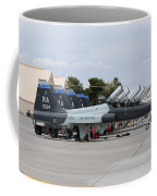 Row Of T-38c Trainer Jets At Nellis Air Coffee Mug