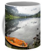 Row Your Boat To The Briksdalsbreen Glacier Coffee Mug