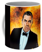 Rowan Atkinson Alias Johnny English Coffee Mug