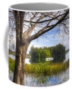Rowboats At The Lake Coffee Mug