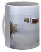 Rowboats On Nonnensee Coffee Mug