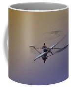 Rower Coffee Mug by Bill Cannon