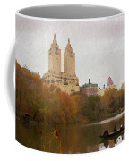 Rowers In Central Park Coffee Mug