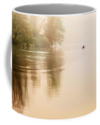 Rowing In The Mist Coffee Mug