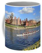 Rowing On The Thames At Hampton Court Coffee Mug