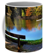 Rowing The River Itchen Coffee Mug