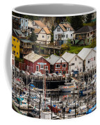 Rows Of Houses And Sails Coffee Mug