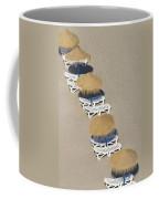 Rows Of Parasols On The Beach Of Coffee Mug