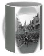 Roy And Minnie Mouse Black And White Magic Kingdom Walt Disney World Coffee Mug